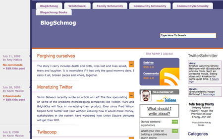 BlogSchmog, version 3